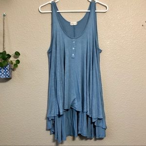 Altar'd State Flowy High Low Tank Top